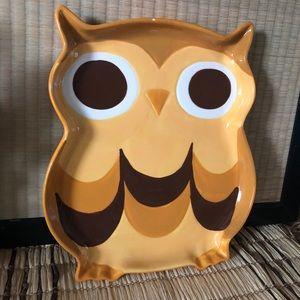 Mesa Owl Serving Platter Tray